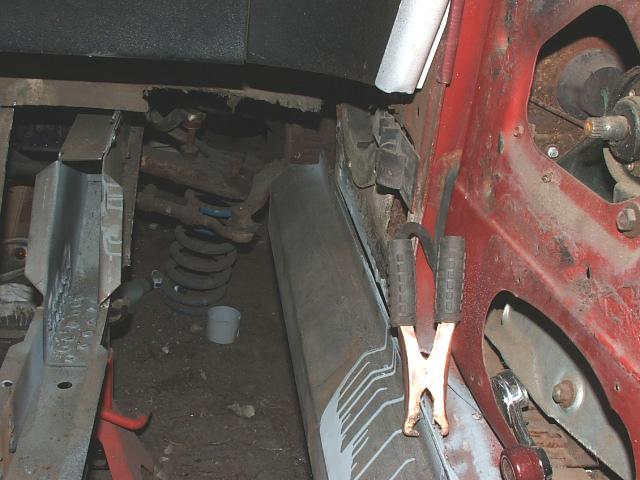 69 mustang torque box