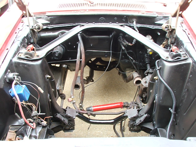 mustang engine restore