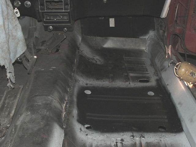 69 mustang seat pan replacement