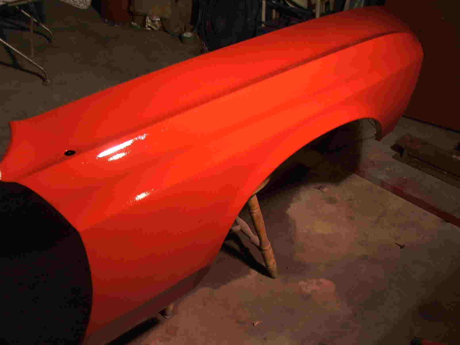 Classic Mustang Convertible Restoration paint