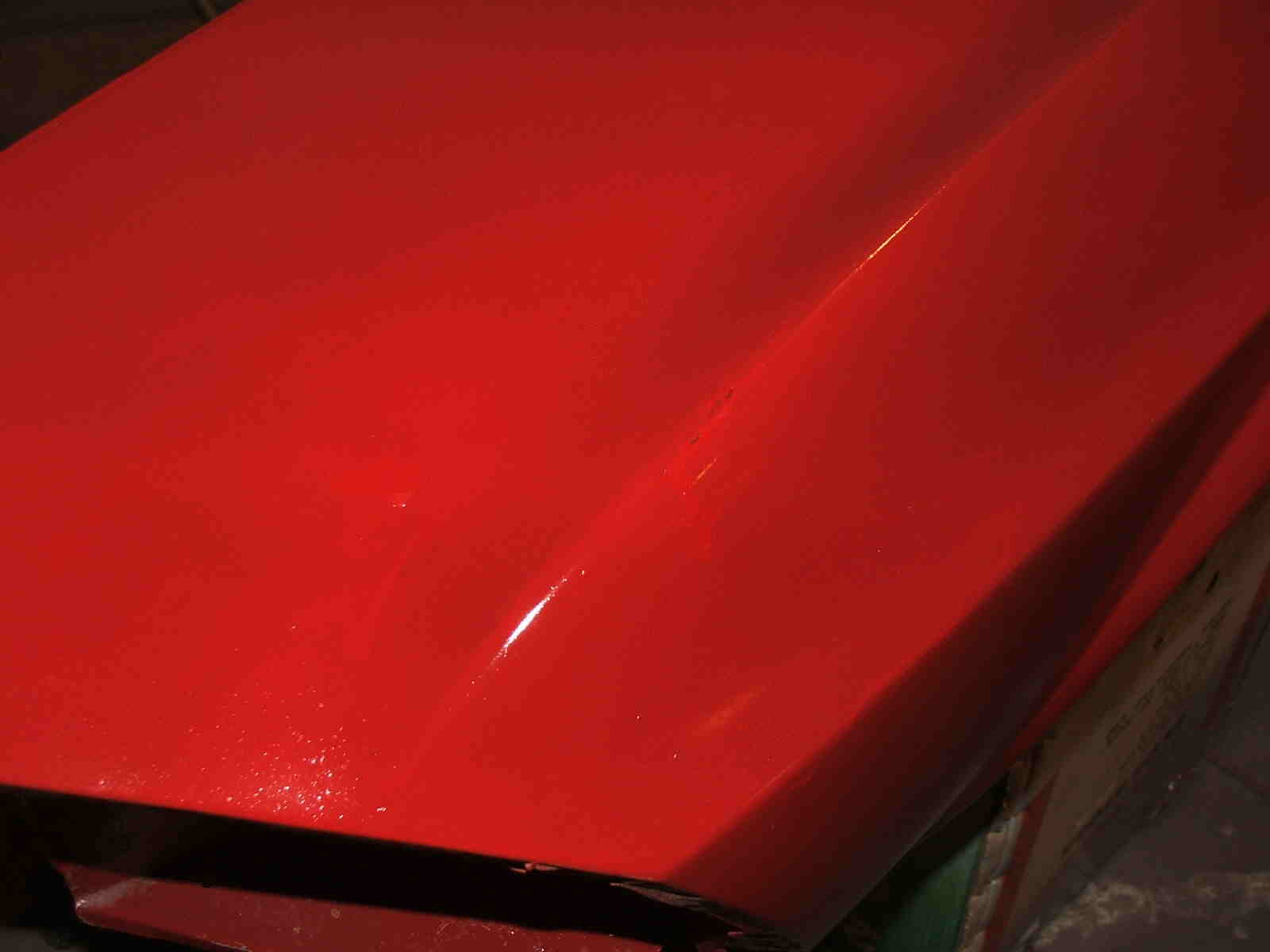 Classic Mustang Convertible Restoration painting