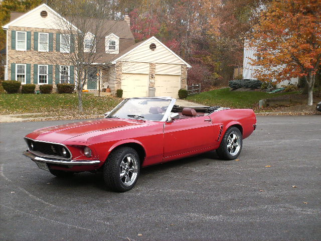 Classic 1960s Mustang Convertible Restoral