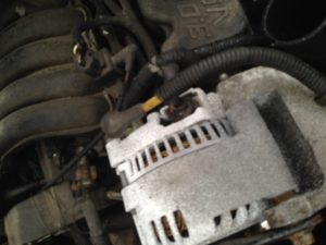 Donor 3G alternator out of a 97 Taurus at the junk yard